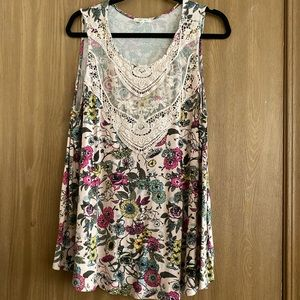 Maurices Floral Tank